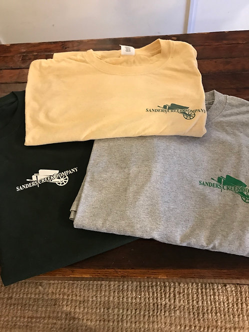 Sanders Creek t-shirts
