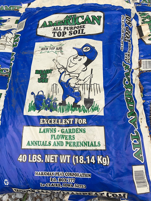 All American All Purpose Top Soil - 40lbs