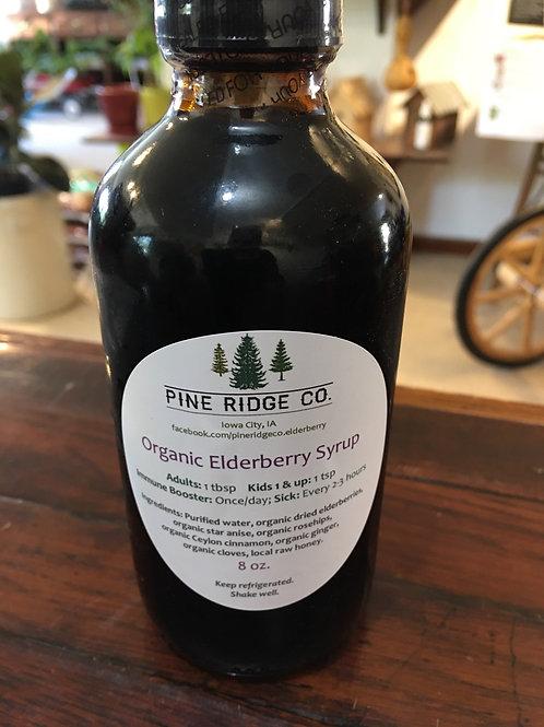 Organic Elderberry Syrup - Pine Ridge Co. - 8oz