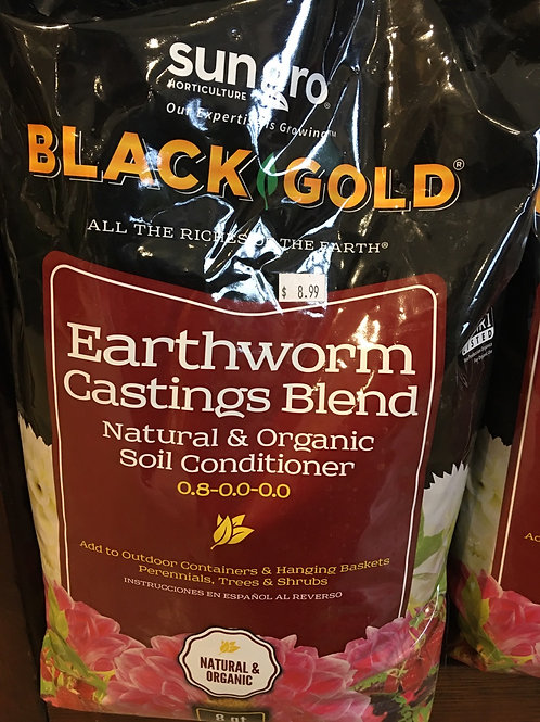 Black Gold - Earthworm Castings Blend