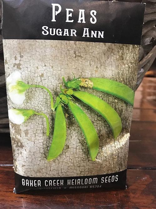 Peas sugar ann