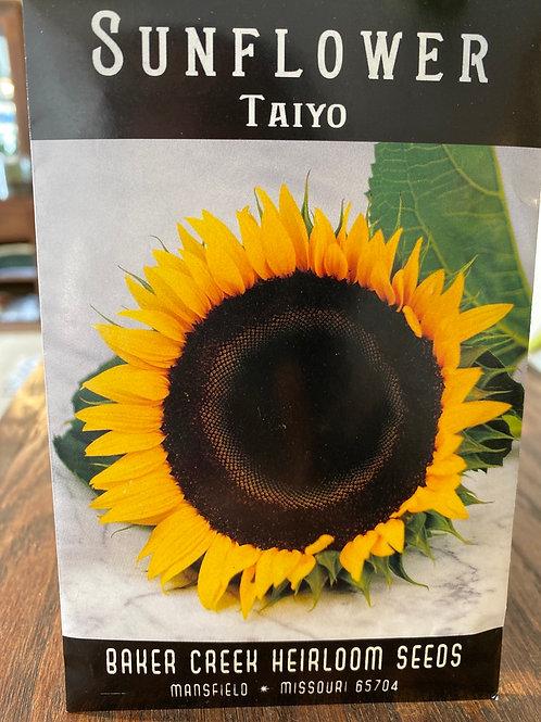 Baker Creek Heirloom Seeds - Sunflower - Taiyo