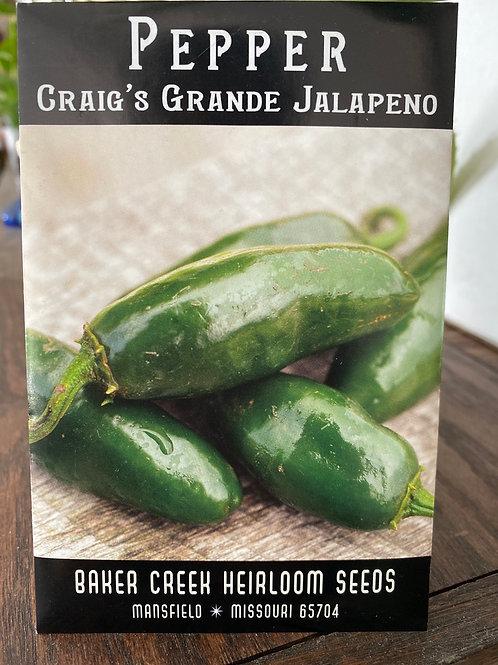 Craig's Grande Jalapeno Seeds