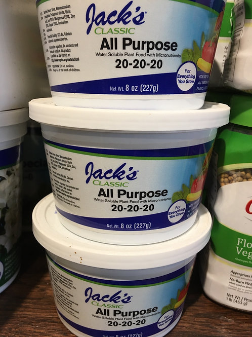 Jack's Classic All Purpose Fertilizer - 8 oz