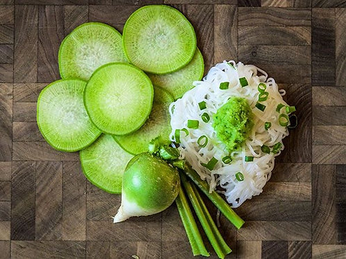 Baker Creek Heirloom Seeds - Radish - Japanese Wasabi