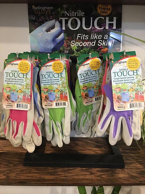 Nitrile Garden Gloves