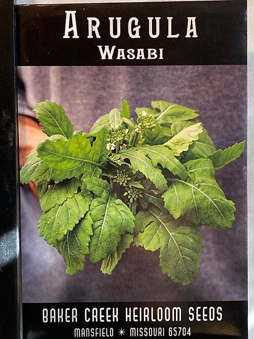 Baker Creek Heirloom Seeds - Arugula - Wasabi