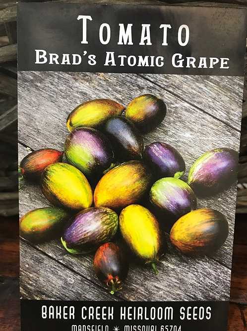 Tomato brads atomic grape