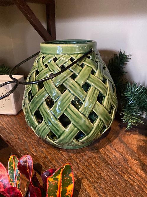 Lantern - Small Green