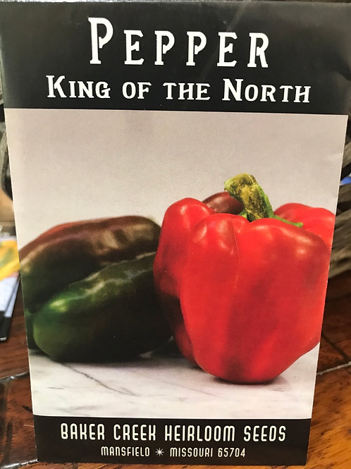 Pepper king of the north