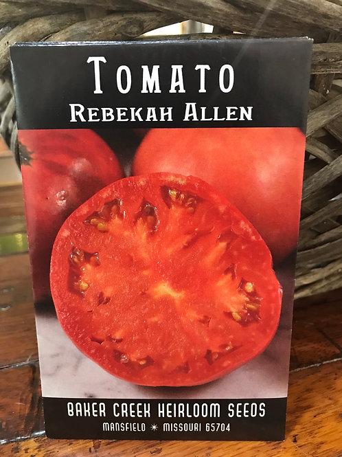 Tomato Rebekah Allen