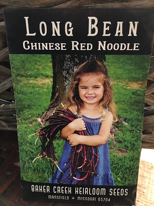 Long Bean - Chinese Red Noodle