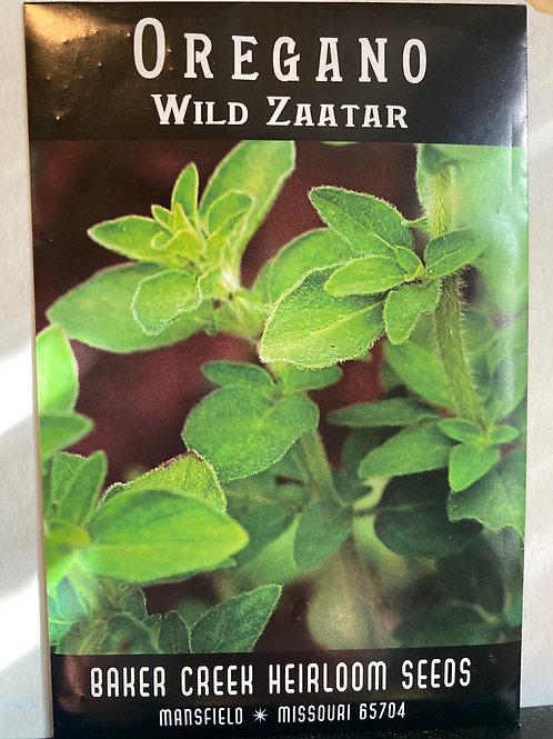Baker Creek Heirloom Seeds -   Oregano - Wild Zaatar