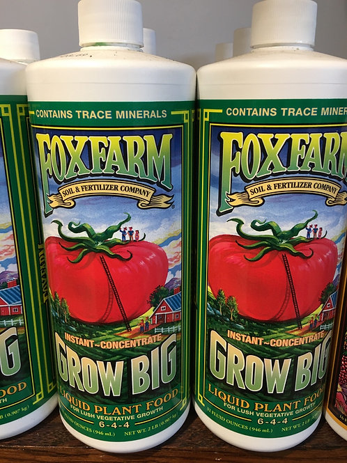 Fox Farm - Grow Big - Liquid Plant Food