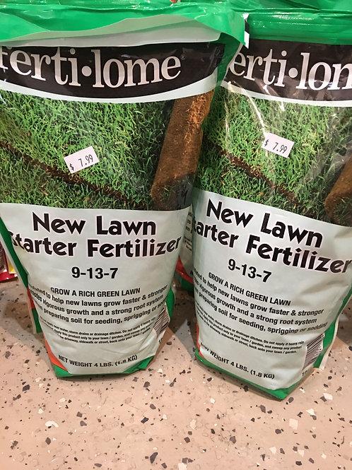 Fertilome New Lawn Fertilizer 4lbs