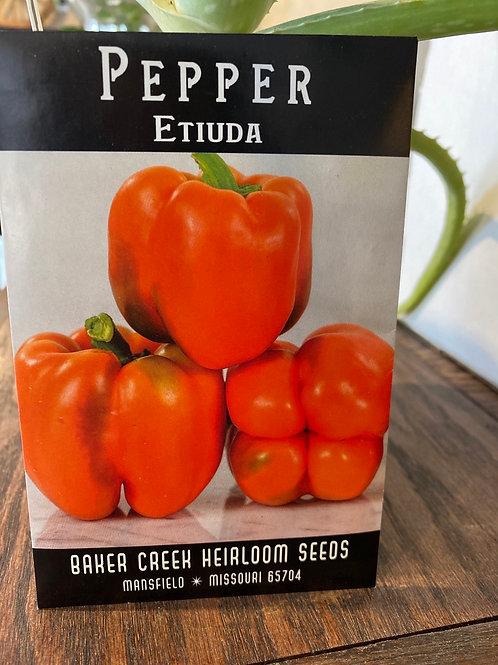 Baker Creek Heirloom Seeds - Pepper - Etiuda