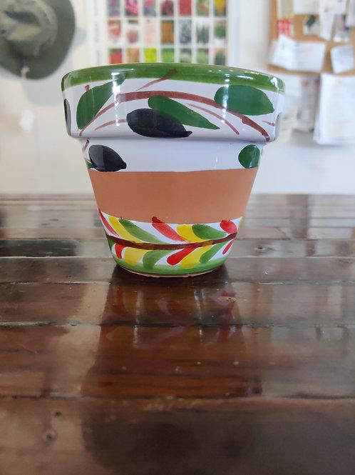 """Ceramica 4.5"""" Assorted Planter"""