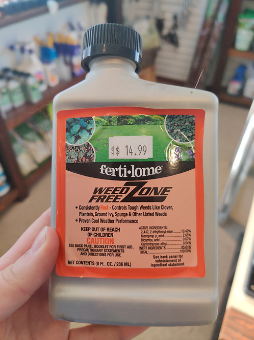 Concentrate Fertilome Weed Free Zone