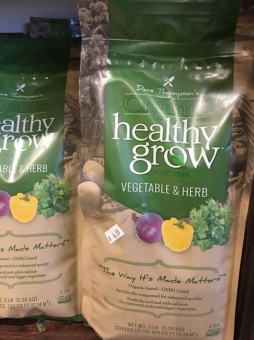 Dave Thompson's Organic Healthy Grow
