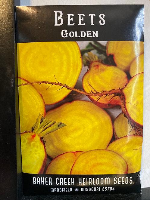 Baker Creek Heirloom - Beet - Golden