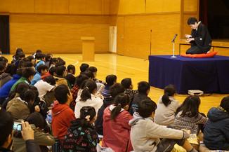 【出前授業】豊かな心育成事業:百合ヶ丘学園出張落語会