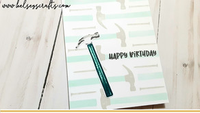 Kat Scrappiness - Masculine Birthday Card
