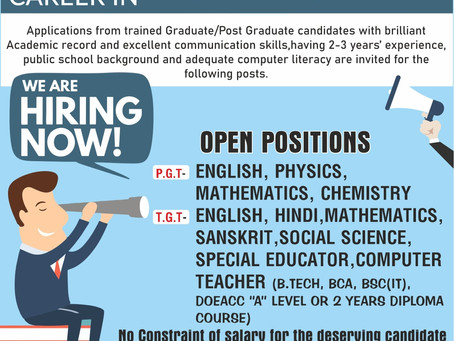 Apply for Teaching Jobs in Little Flowers Group Of Schools