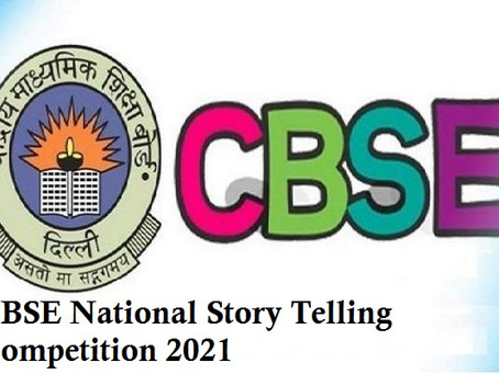 CBSE launches national-level Story Telling Competition for Classes 3 to 12 on Stories of Human...