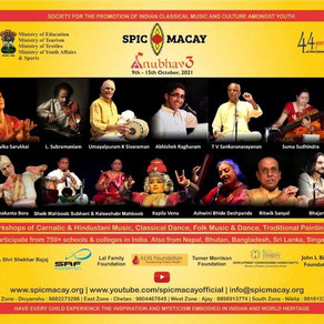 Student to Experience Cultural Heritage with SPIC MACAY's Week-Long 'ANUBHAV 3' Starting 9th October