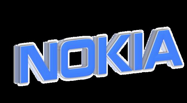 Big Blue Logo brand Nokia