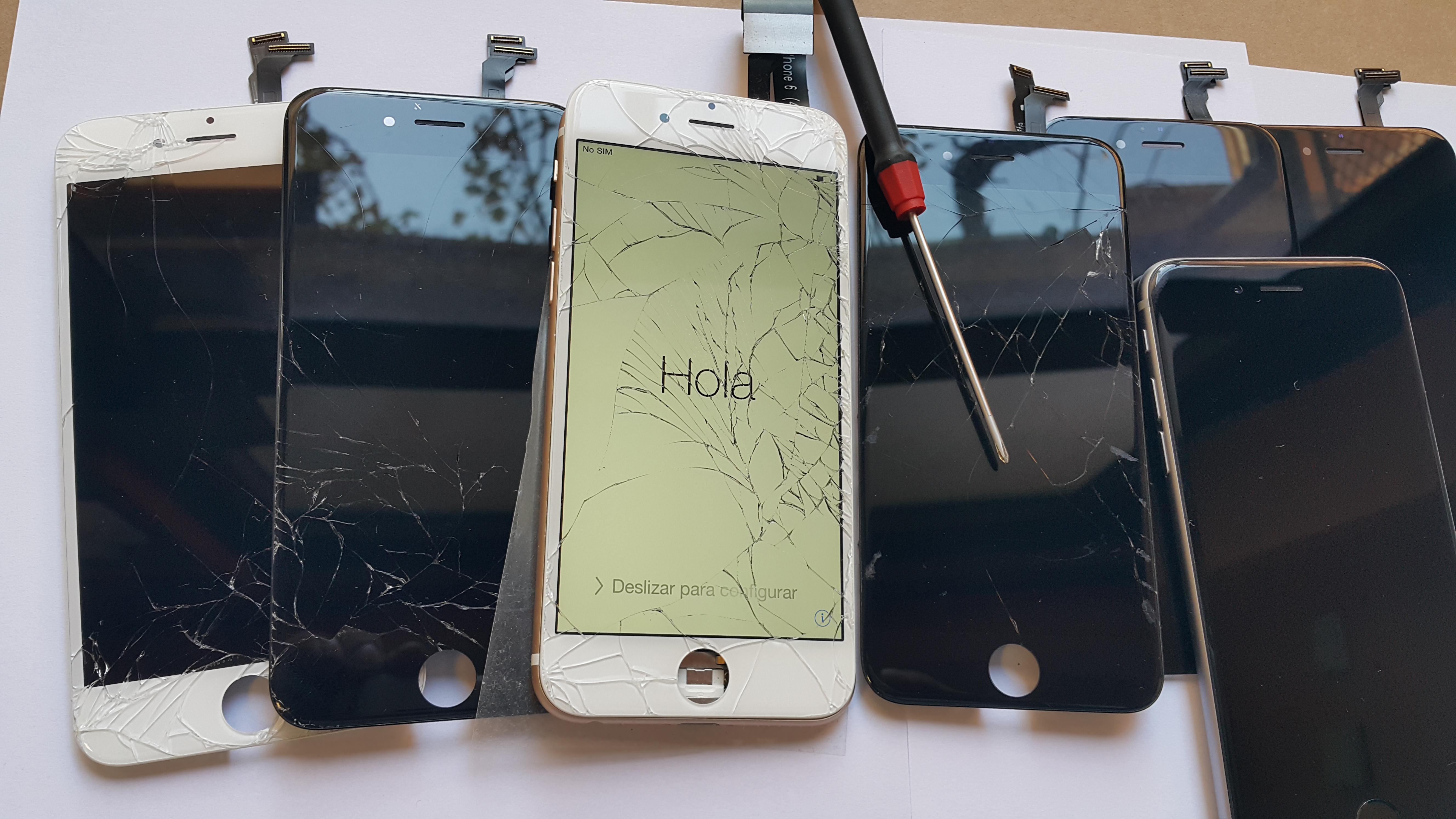 смяна на дисплей iphone 6