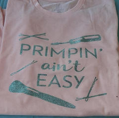 Primping ain't easy
