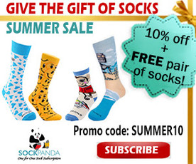 Sock Panda Summer Sale