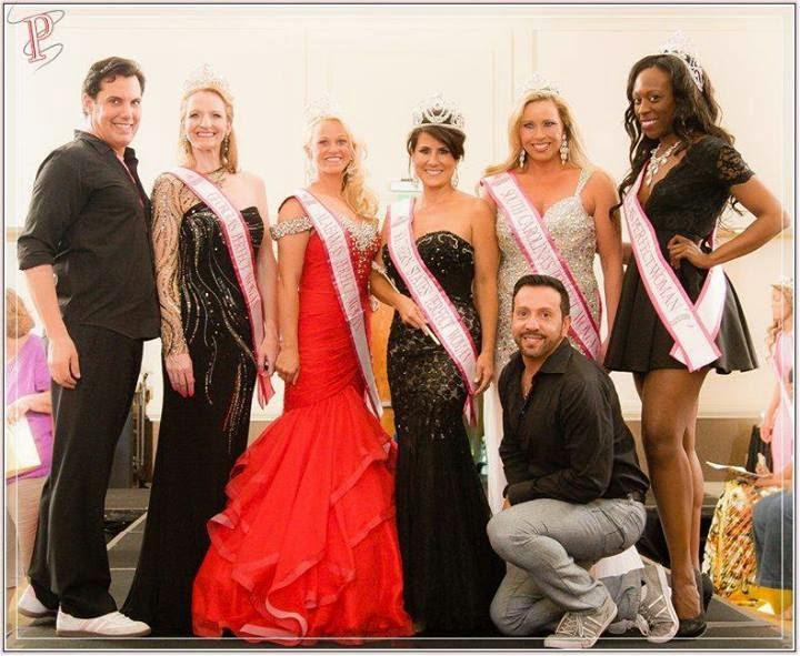 International Director Michael Galanes, new Perfect Women, myself, and International choreographer Mr. Frank A