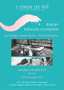 Fanny Rödde Yin Yoga Sonothérapie