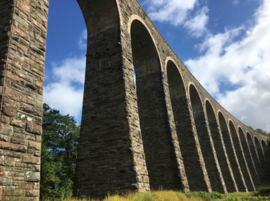 Viaduct in the Cambrian Mountains
