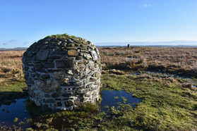Peace cairn in the Cambrian Mountains