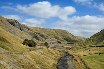 Mining Valley in the Cambrian Mountains