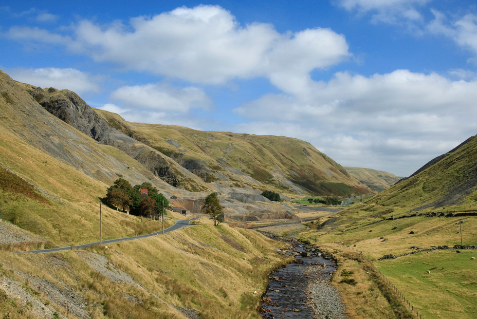 Mining in the Cambrian Mountains