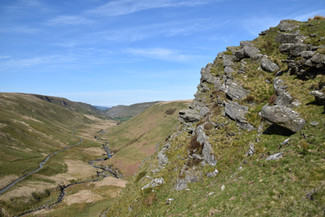 Crag in the Cambrian Mountains