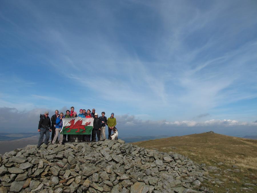 Climb the highest peak-Pumlumon 2468ft