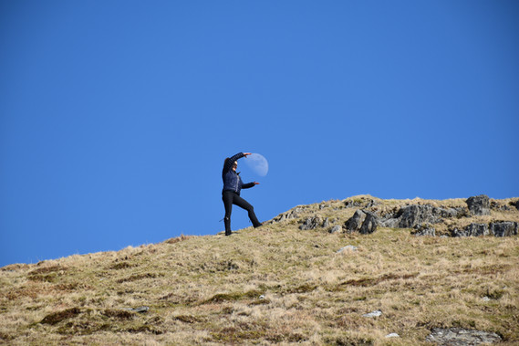 High up in the Cambrian Mountains