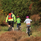 Family cycling trails