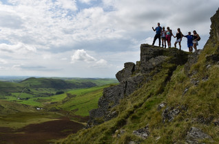 On the edge in the Cambrian Mountains