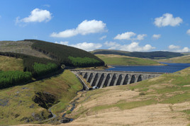 Reservoirs in the Cambrian Mountains