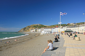 The world famous Aberystwyth