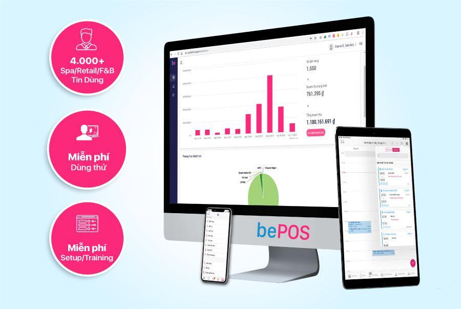 bePOS - Giải pháp quản lý bán hàng 4.0