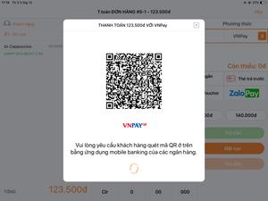 beDisplay - Thanh toán bằng cách quét mã QR