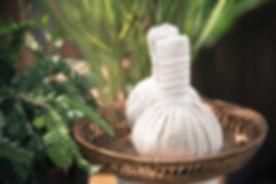 Thai Herbal Ball Hot Compress massage  a