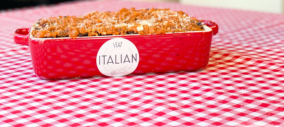 Llasagne I eat Italian